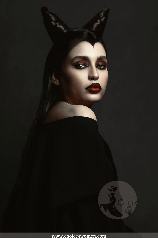 Dramatic Halloween Makeup