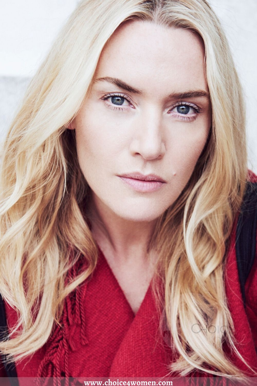 Kate Winslet round face makeup