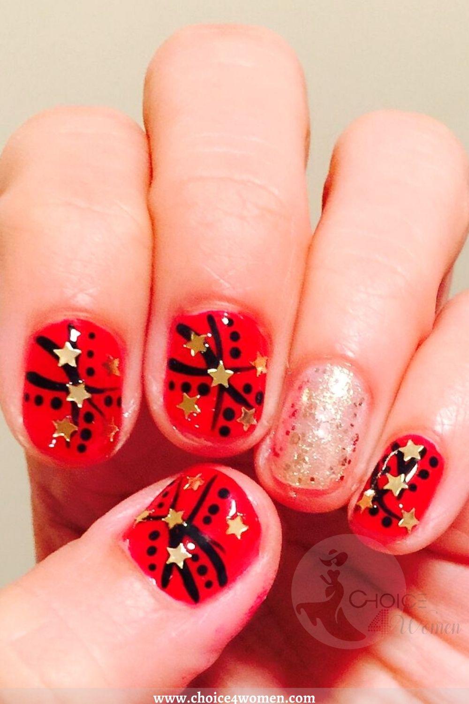 3D star nails