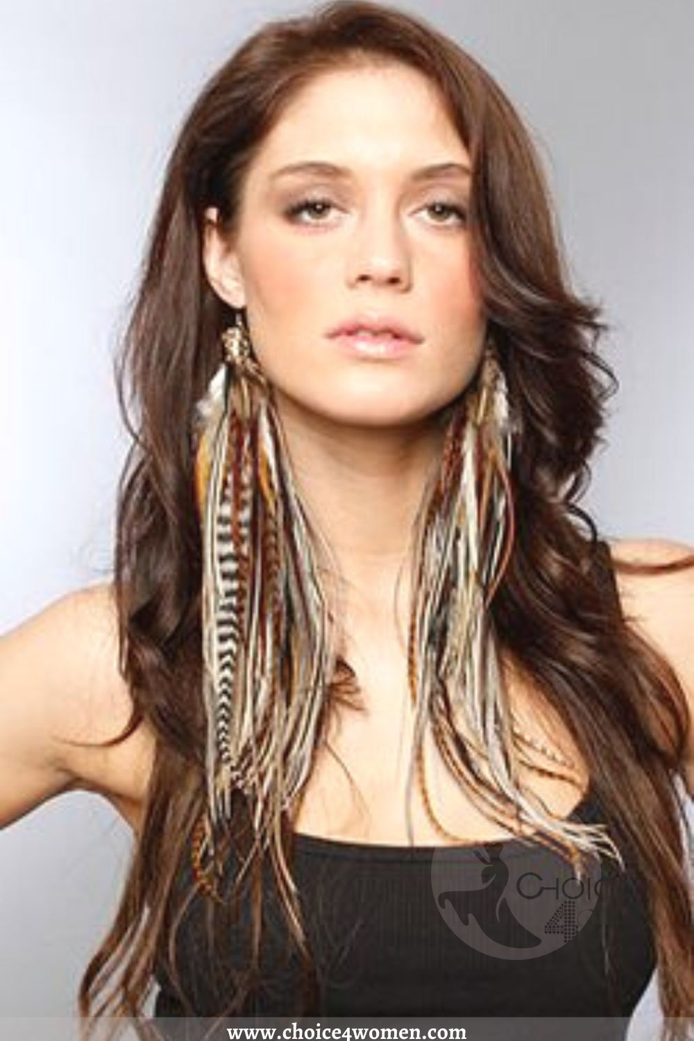 Tribal Boho for long Hairstyles