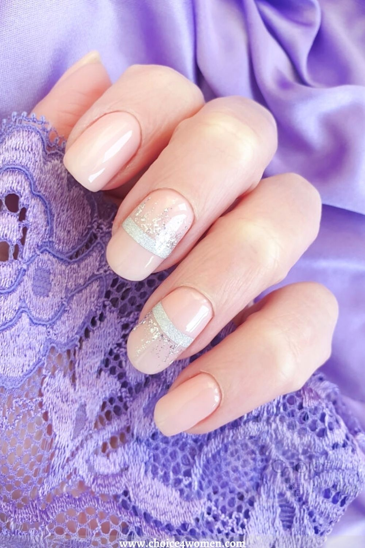 brown long nail designs