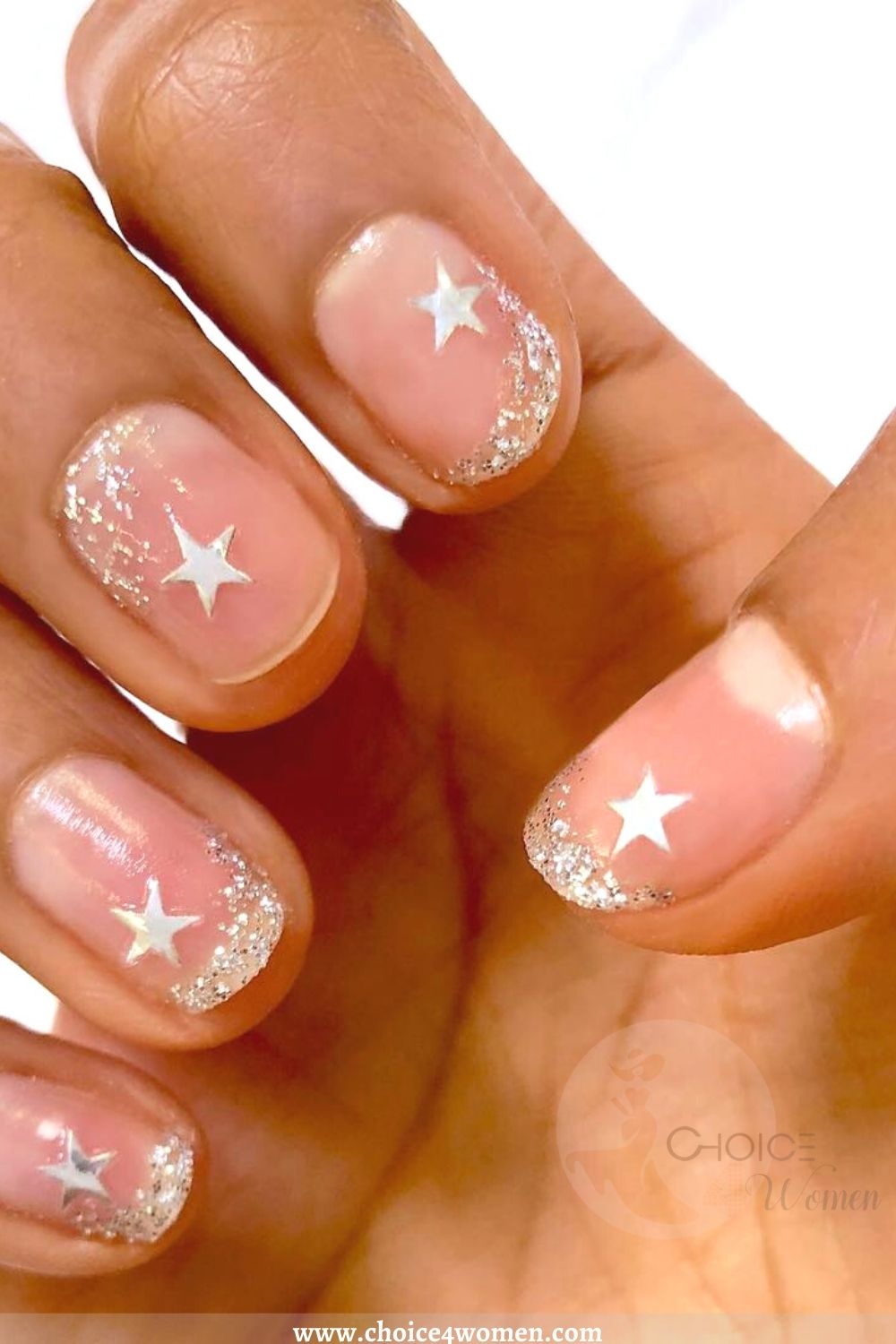 accent star nails