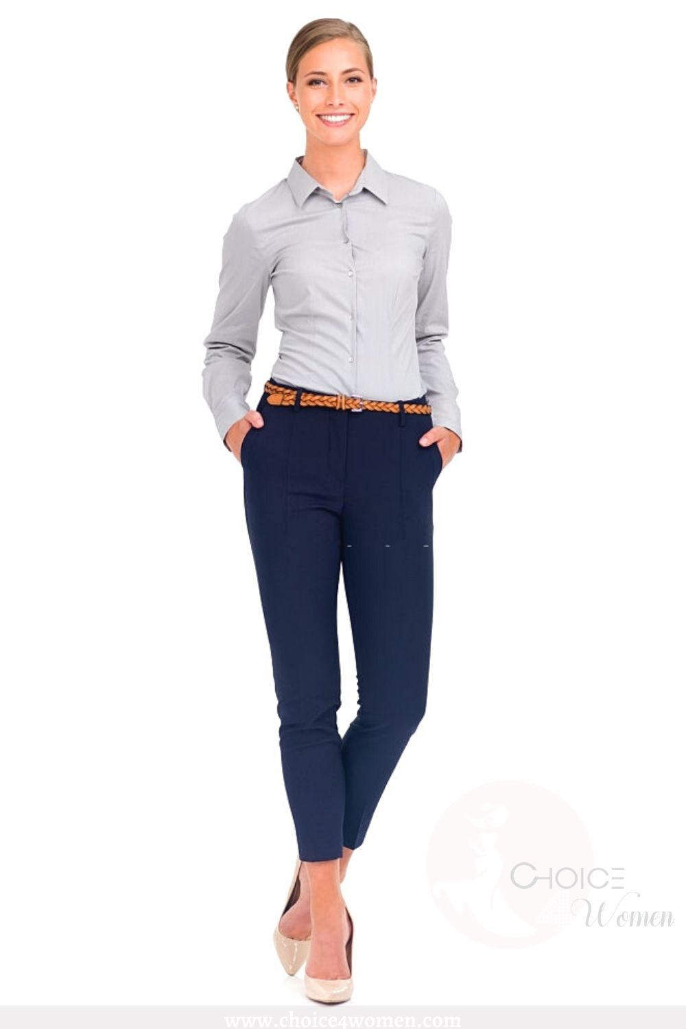 business outfits for women with jeans