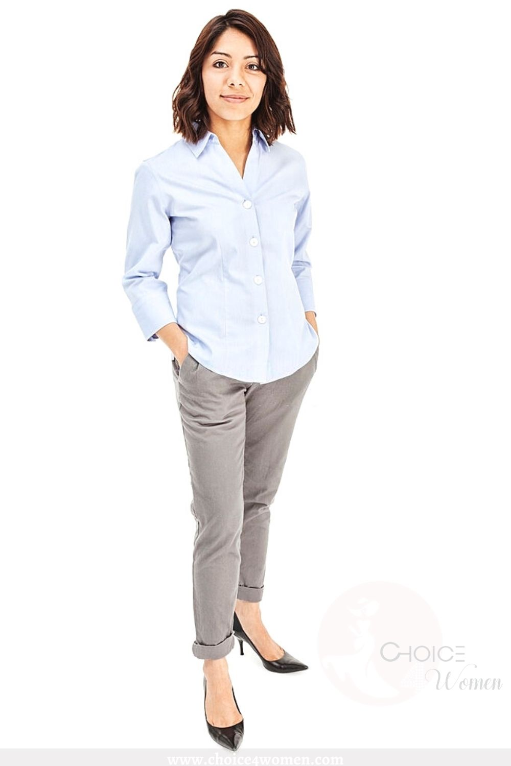 business outfits for women in light fabrics