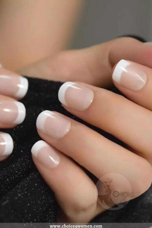 white edge Nail Trends
