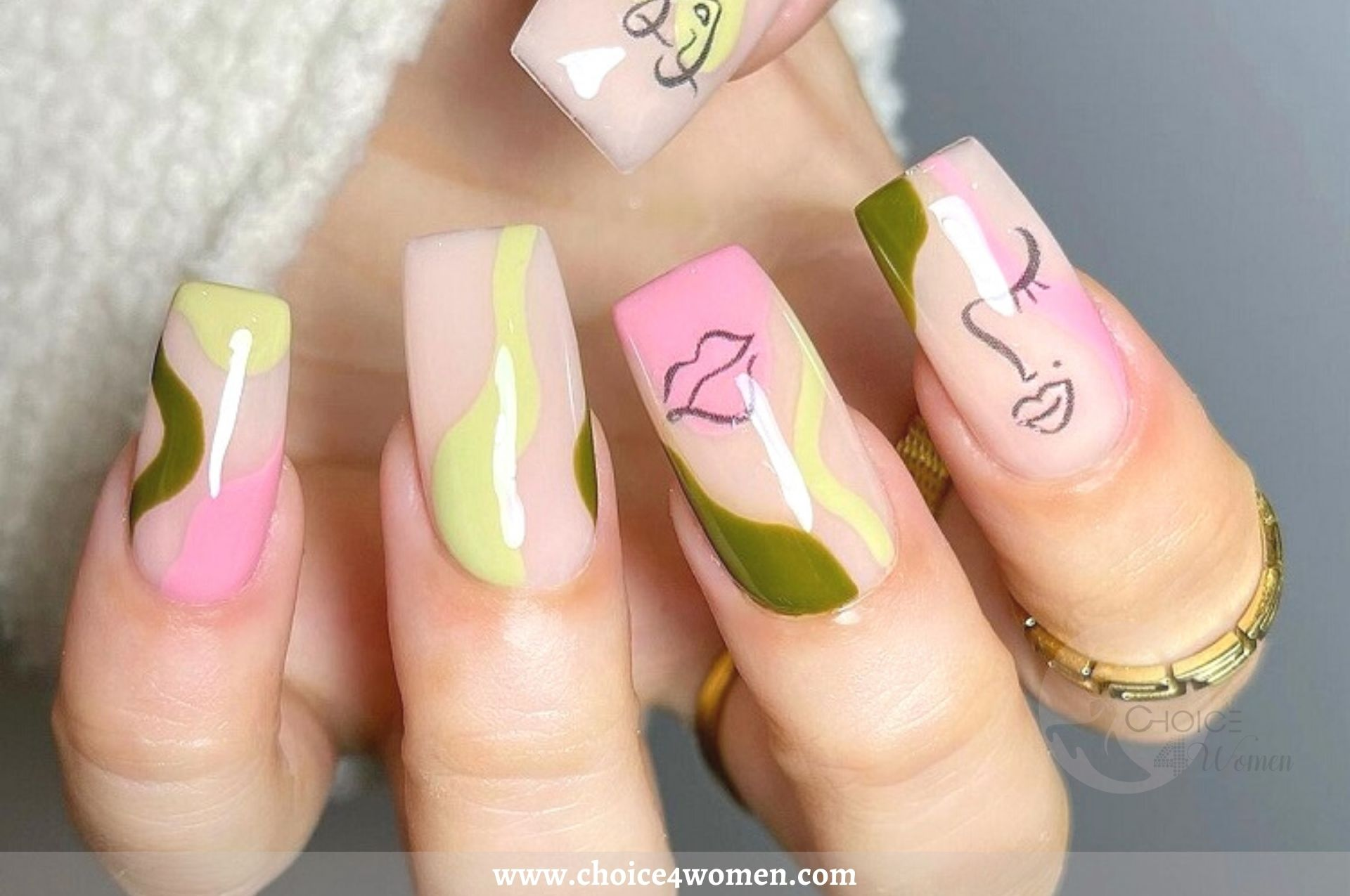 Acrylic Nails Art- The Artiest Trend of the Year that you Embrace